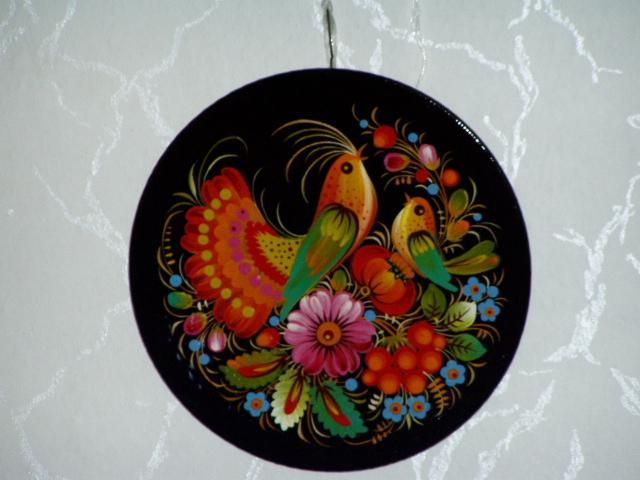 Мастер петриковской росписи